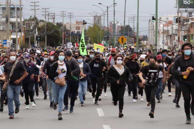 [Galería] - Así avanza la protesta en la capital de Boyacá 12