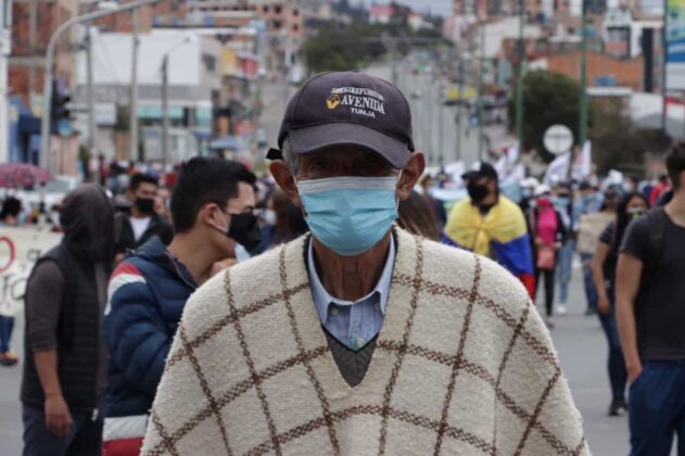 [Galería] - Así avanza la protesta en la capital de Boyacá 11