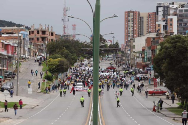 [Galería] - Así avanza la protesta en la capital de Boyacá 3