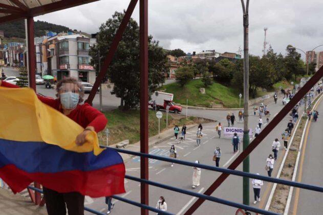 [Galería] - Así avanza la protesta en la capital de Boyacá 15