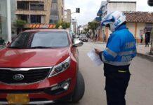 La restricción vehicular en Sogamoso empieza a las 7:00 de la mañana y termina a las 5:00 de la tarde de hoy. Foto: archivo particular
