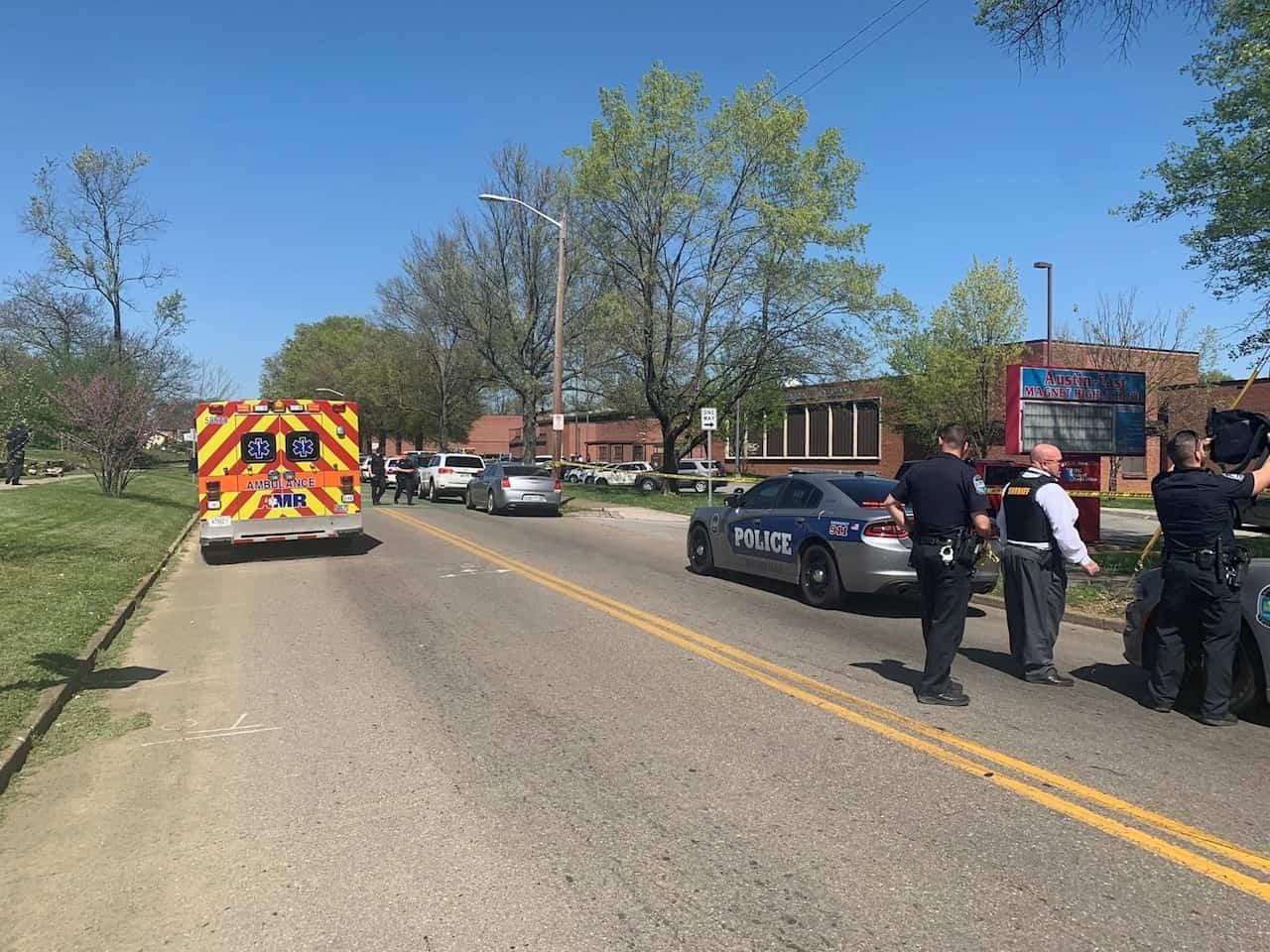 Tiroteo con varias víctimas en instituto de secundaria de Tennessee, en EEUU 1