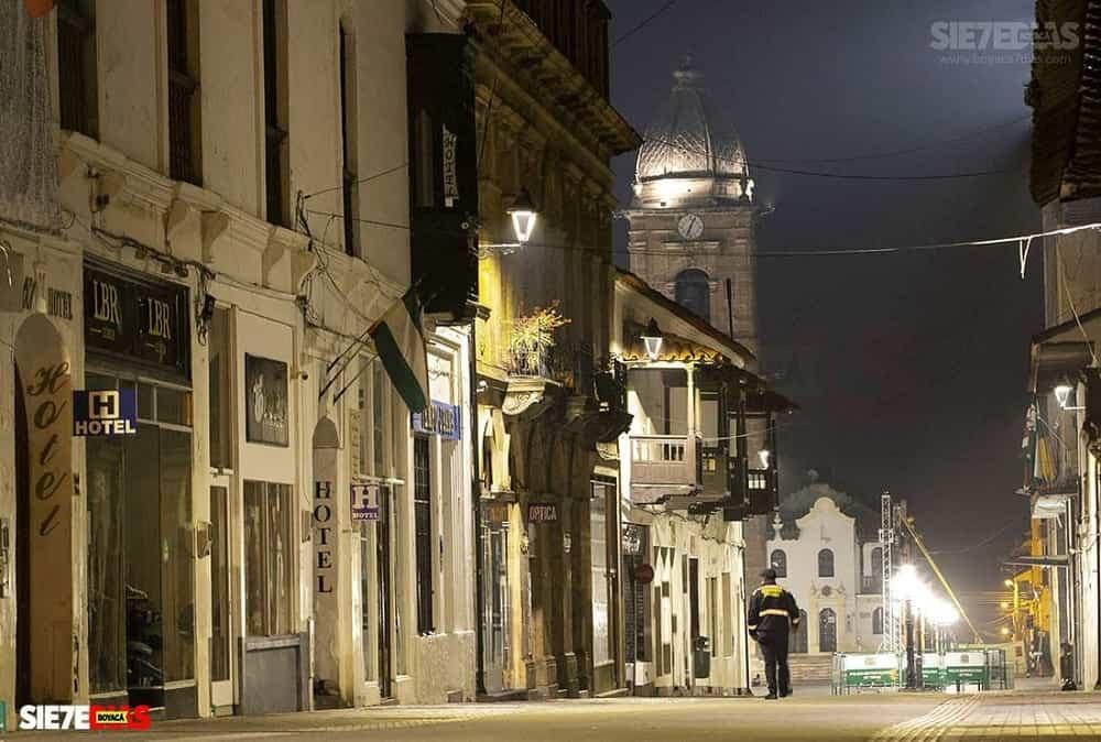 En toque de queda nocturno entra Boyacá desde esta noche y durante todo el fin de semana 1