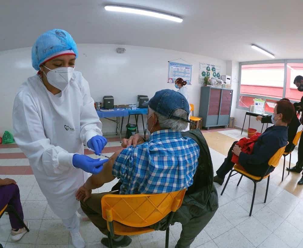 La administración de vacunas diarias por parte de la ESE está entre 200 y 450 dosis. Foto: archivo particular
