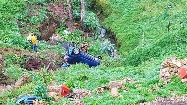 Cinematográfico accidente esta madrugada en Ventaquemada 2