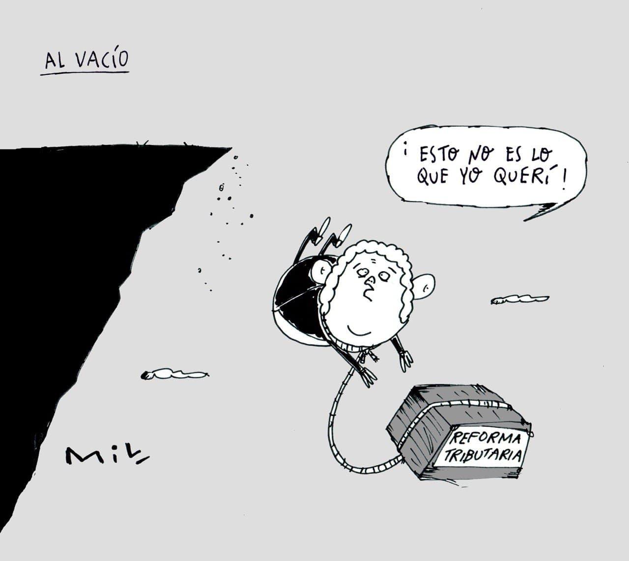Al vacío - #Caricaturas7días 1
