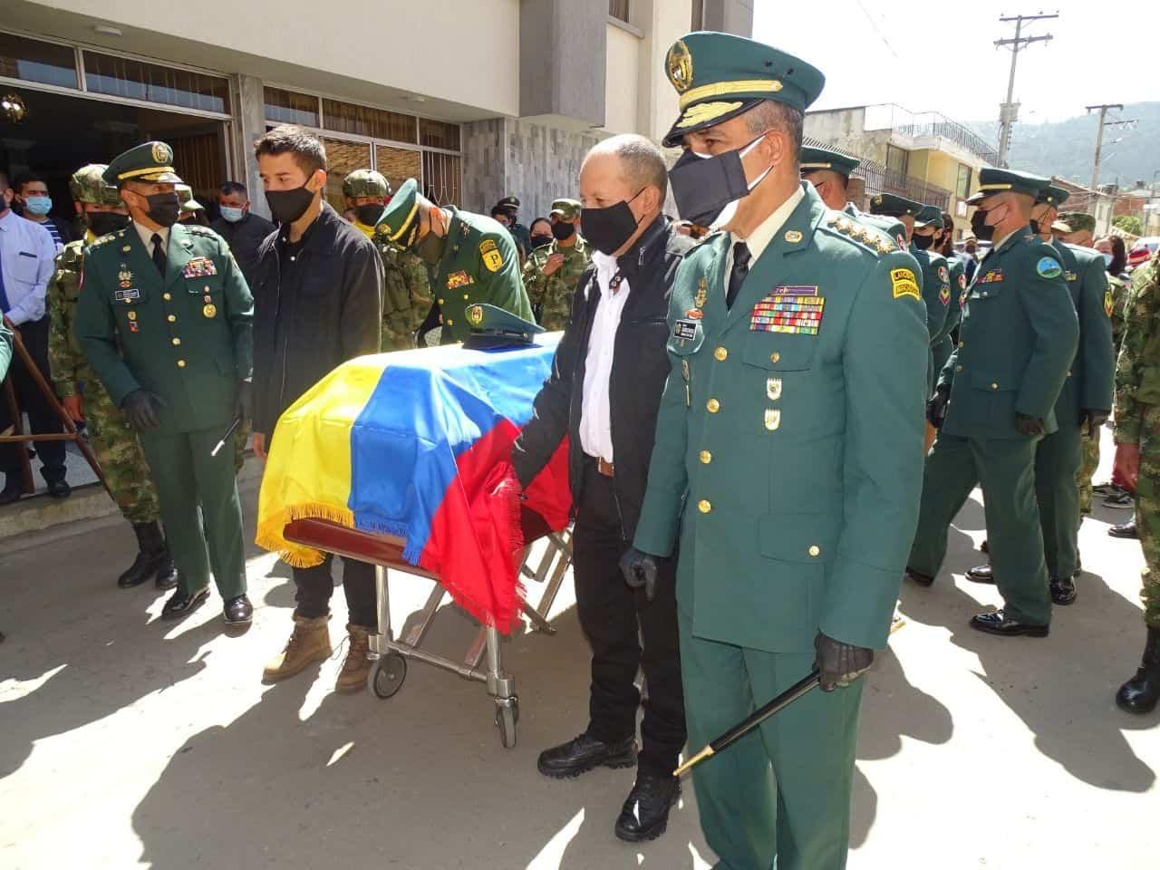 Con honores se despidió a suboficial boyacense en Santa Rosa de Viterbo 1