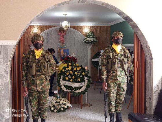 Ricardo Gómez, el suboficial boyacense asesinado en enfrentamiento en Argelia Cauca 1
