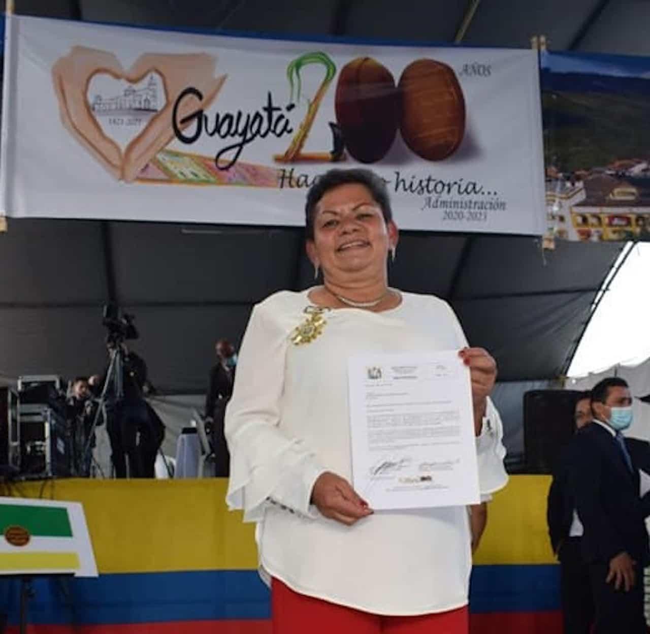 Guayatá exaltó a sus máximos líderes 2