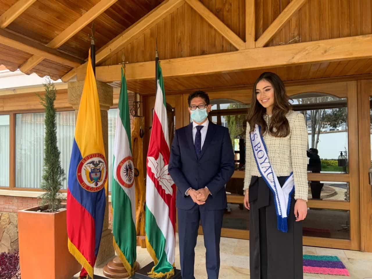 Ella es Andrea Valentina la nueva Miss Mundo Boyacá 2021 1