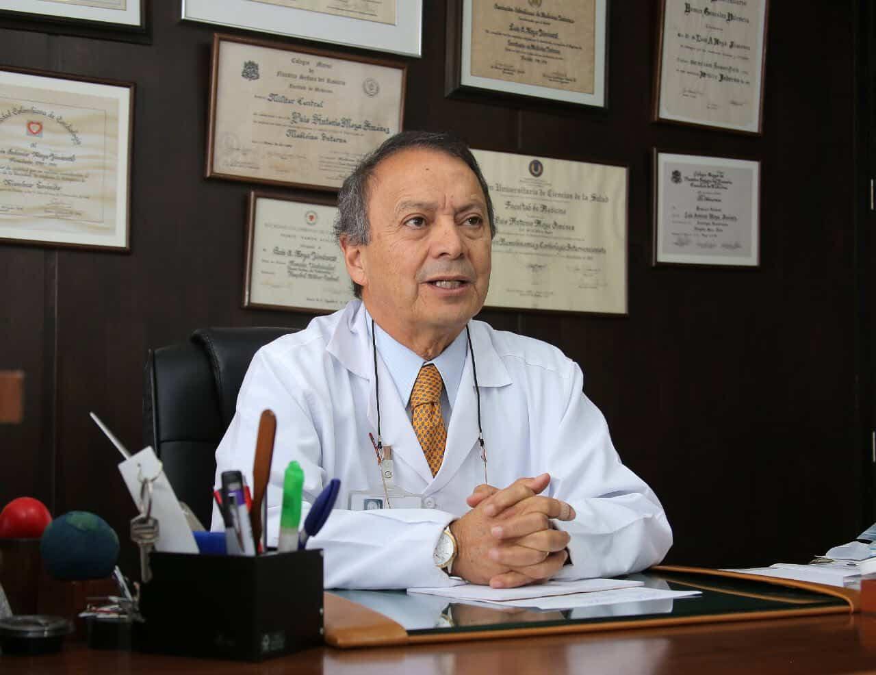 La Federación Mundial del Corazón destacó a médico del hospital de Tunja como héroe del corazón