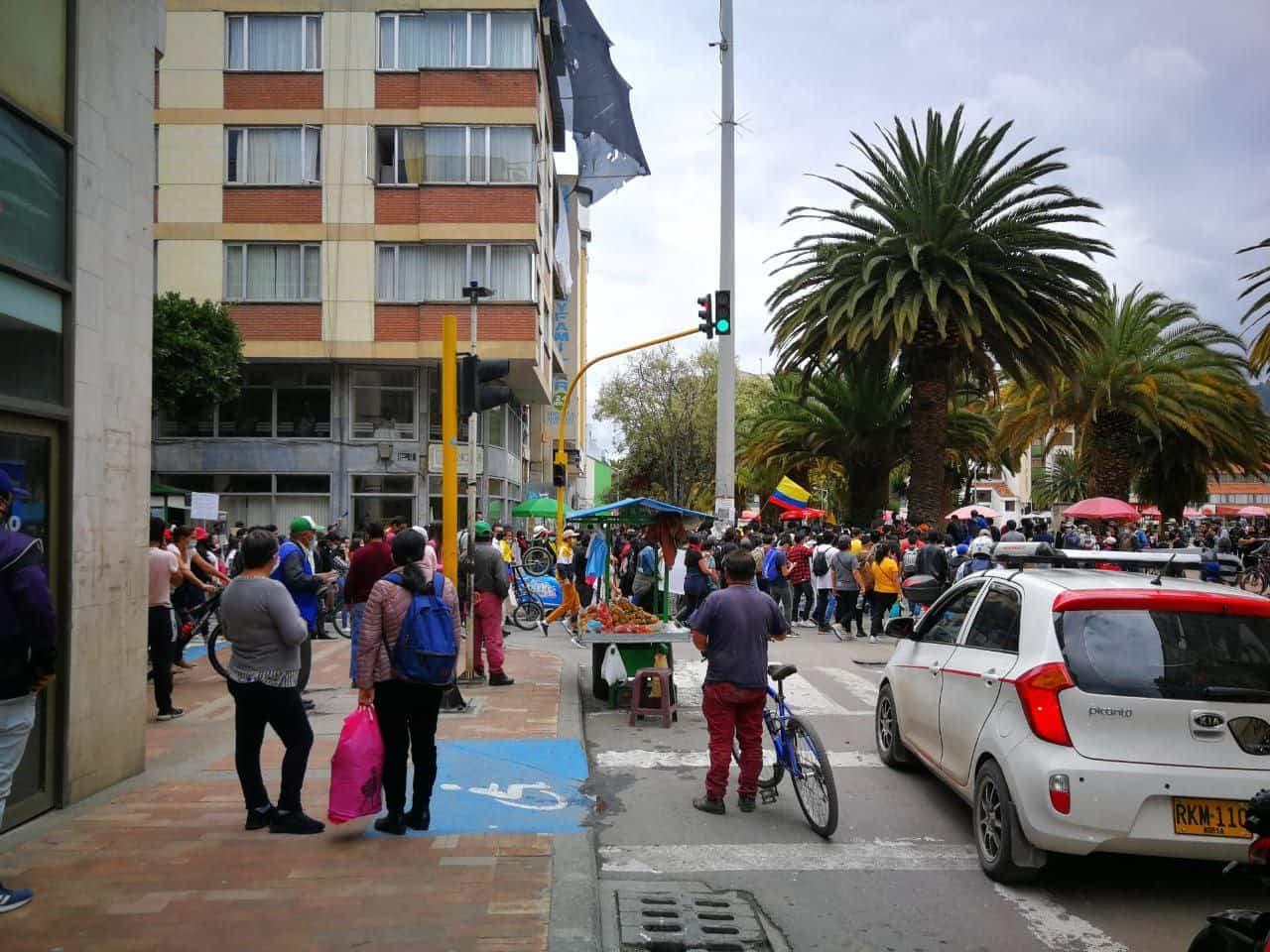 Aunque hasta el momento no se han registrado hechos violentos, el bloqueo de vías si está causando problemas en diferentes sectores del departamento.
