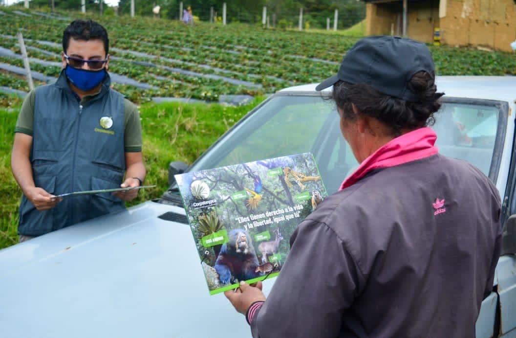 Monitoreo y seguimiento a posible aparición de Osa Andina en Monguí 1