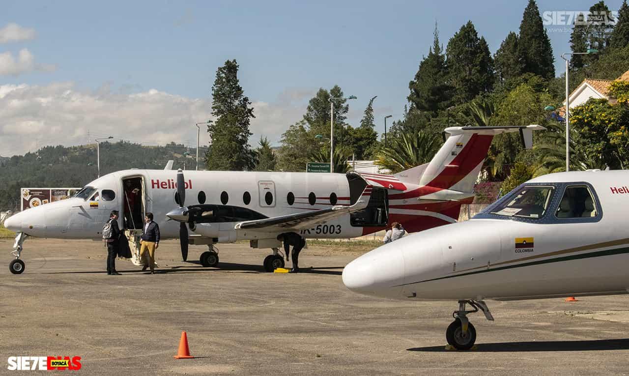 ¿Qué tanto han servido los aeropuertos de Sogamoso y Paipa en medio del paro nacional? 1