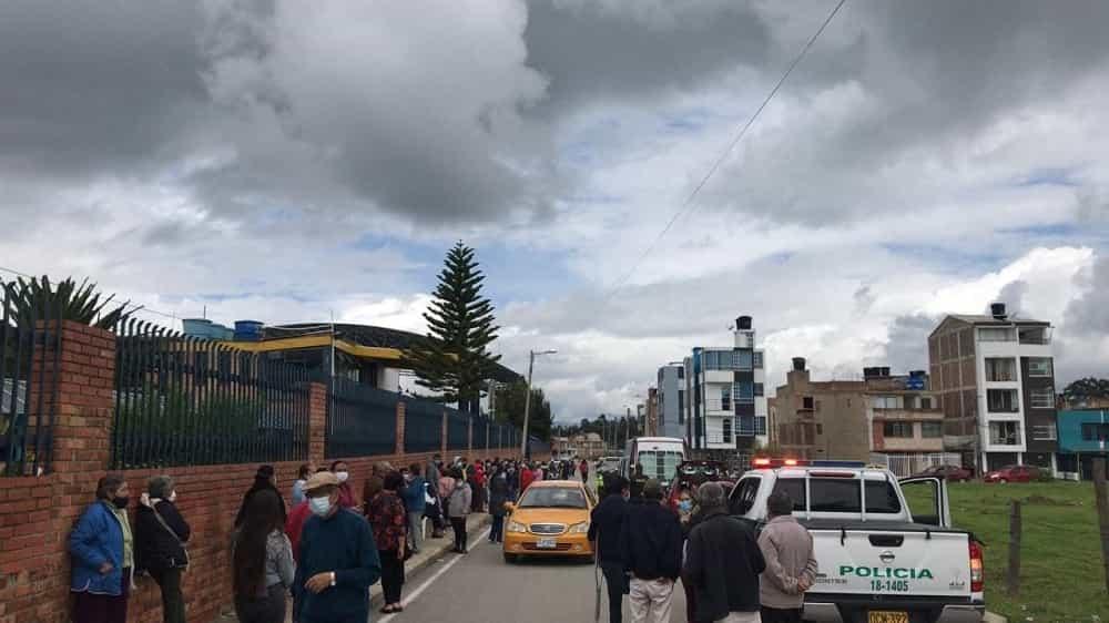 ¿Por qué se presentaron inconvenientes con la vacunación contra el COVID-19 el martes en Sogamoso?