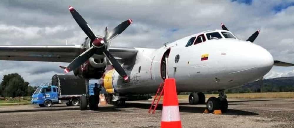 Se empezó a transportar carga en avión hacia el departamento de Boyacá #Tolditos7días 1