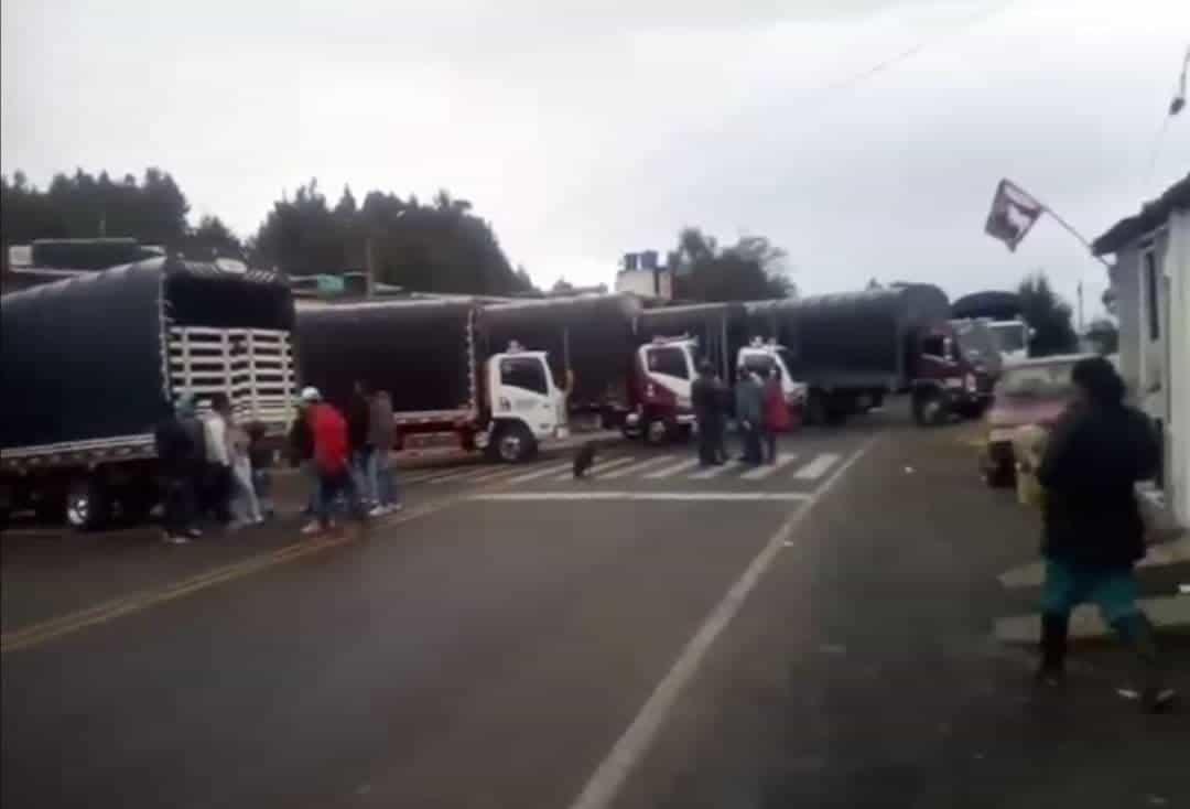 Manifestantes en Boyacá habrían terminado contagiados de COVID-19 1