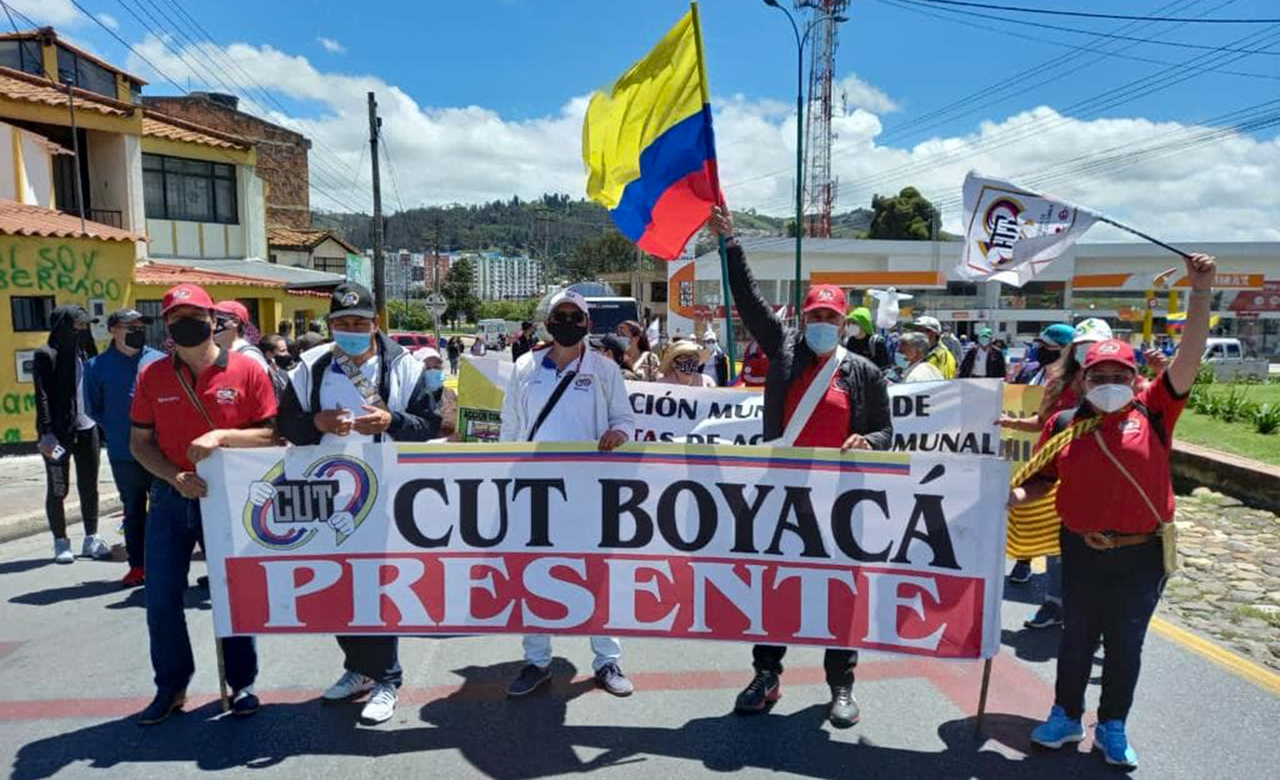 'Por qué llevamos casi un mes en paro, y los manifestantes se mantienen en estar en las calles': Presidente de la CUT Boyacá #LaEntrevista7días 3