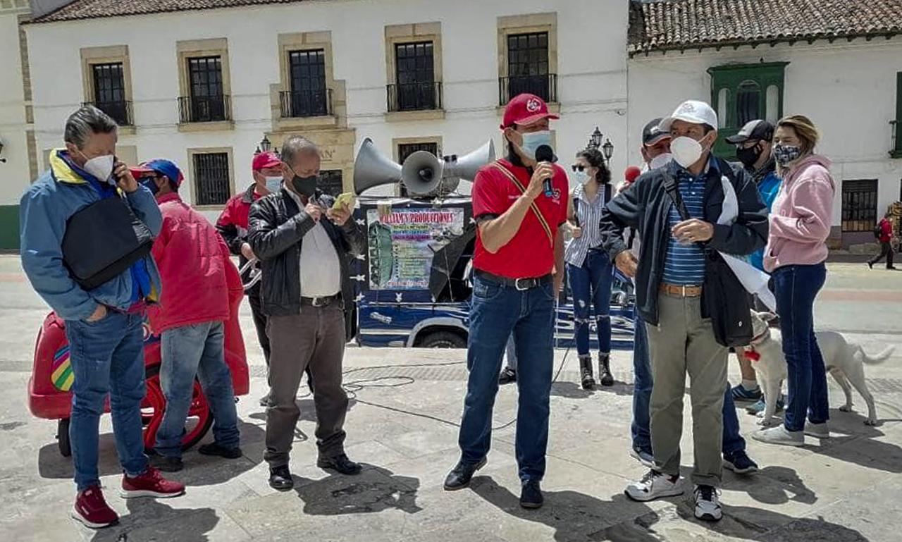 'Por qué llevamos casi un mes en paro, y los manifestantes se mantienen en estar en las calles': Presidente de la CUT Boyacá #LaEntrevista7días 2
