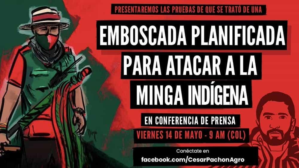César Pachón promete revelar hoy que ataque a la minga fue una emboscada #Tolditos7días 1