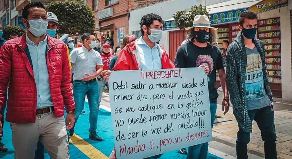 Alcalde de Paipa, investigado por la Procuraduría por manifestaciones #Tolditos7días 1