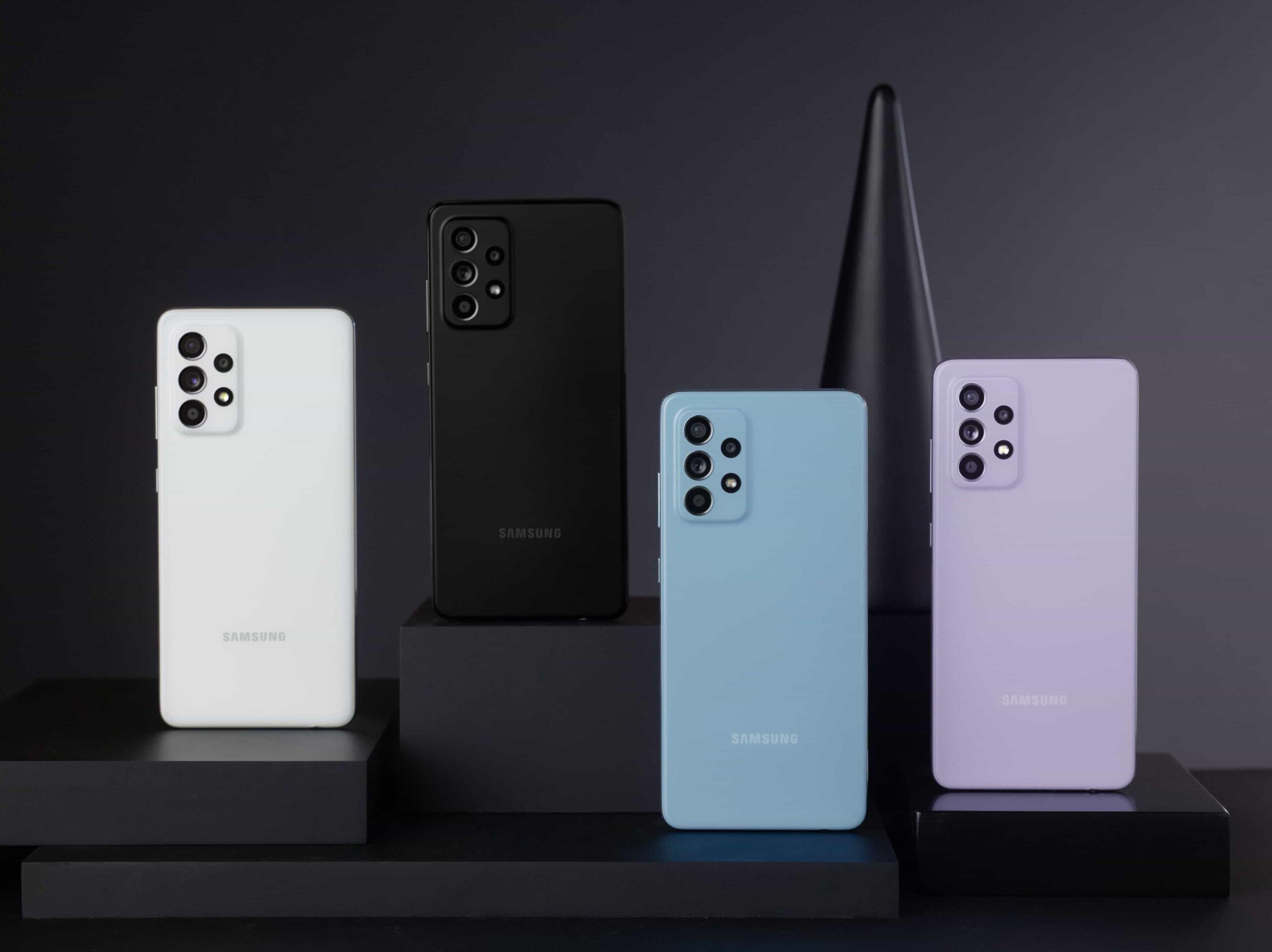 Samsung presenta en Colombia los Galaxy A72 y A52LTE 1