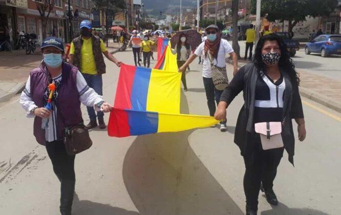Continúan las movilizaciones en Sogamoso 3