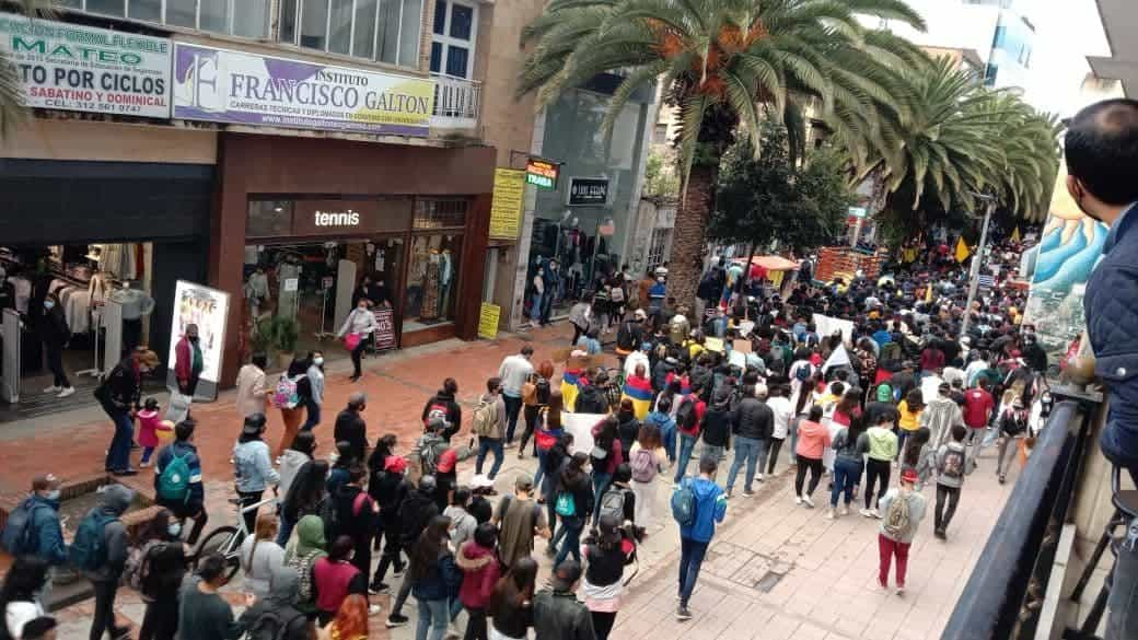 Continúan las movilizaciones en Sogamoso 1