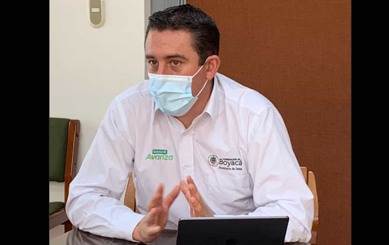 Más del 530 por ciento se ha incrementado el contagio del COVID en los últimos 50 días en Boyacá, según el Secretario de Salud #LaEntrevista7días 1