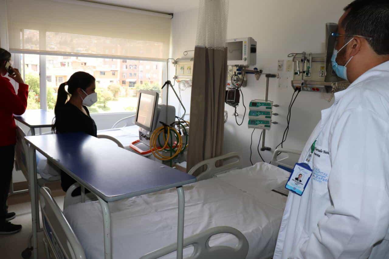 El Hospital San Rafael de Tunja habilitó 12 nuevas camas para Unidades de Cuidados Intensivos 1