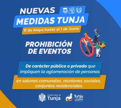 Bajan en Tunja las restricciones en medio del pico más alto del contagio, pero… 2