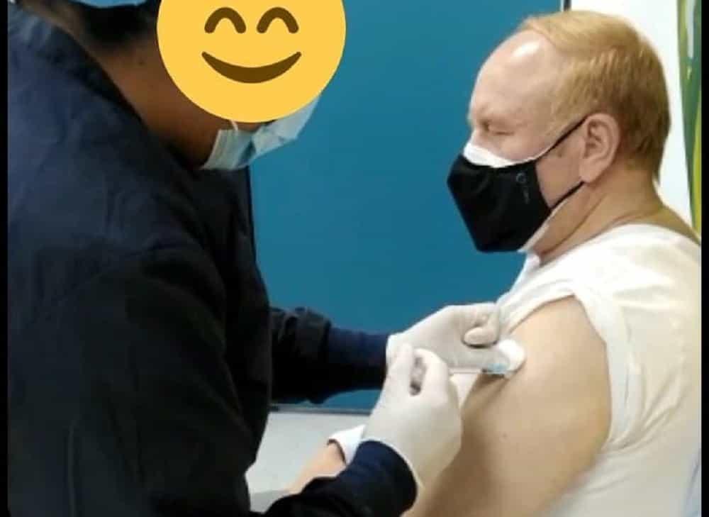 Ya vacunaron contra el COVID al padre de la doctora Zulma Cucunubá #Tolditos7días 1