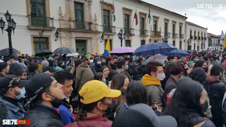 Así se ha vivido el octavo día de protestas en la ciudad de Tunja 2