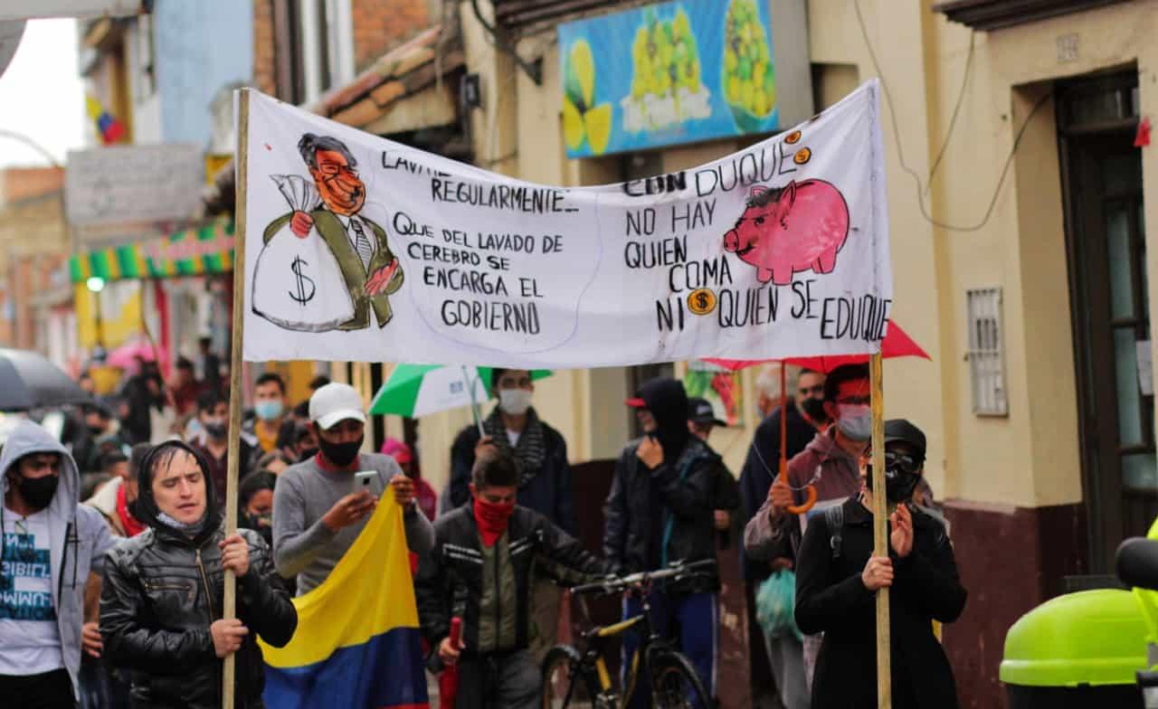 Bloqueos impiden entregar las ayudas humanitarias en Chiquinquirá 1