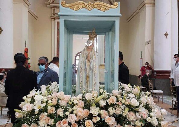 [Galería] - Creyentes de más de 100 países del mundo se unieron en oración en el Tercer Rosario Mundial Mater Fátima ofrecido desde Chiquinquirá 2
