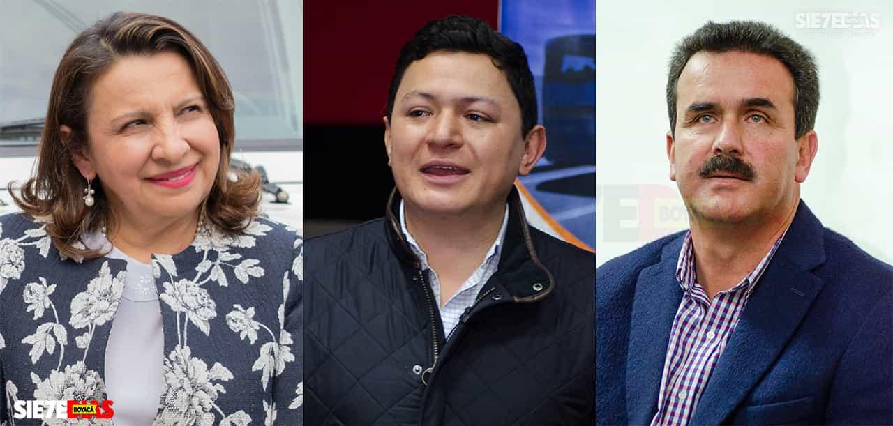Los padrinos de los que pelean por ser candidatos en Duitama #Tolditos7días 1