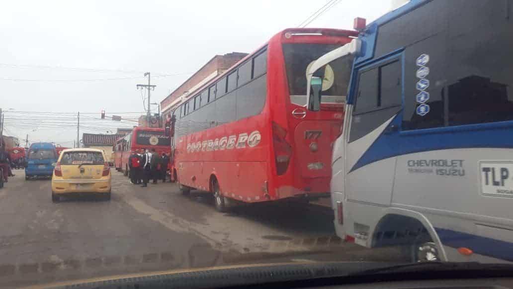 No hay despachos de buses desde la Terminal de Transportes de Sogamoso por el paro 2