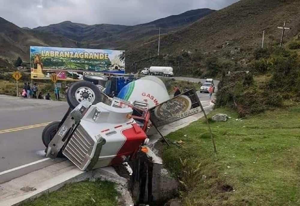 El aparatoso accidente que milagrosamente no terminó en tragedia
