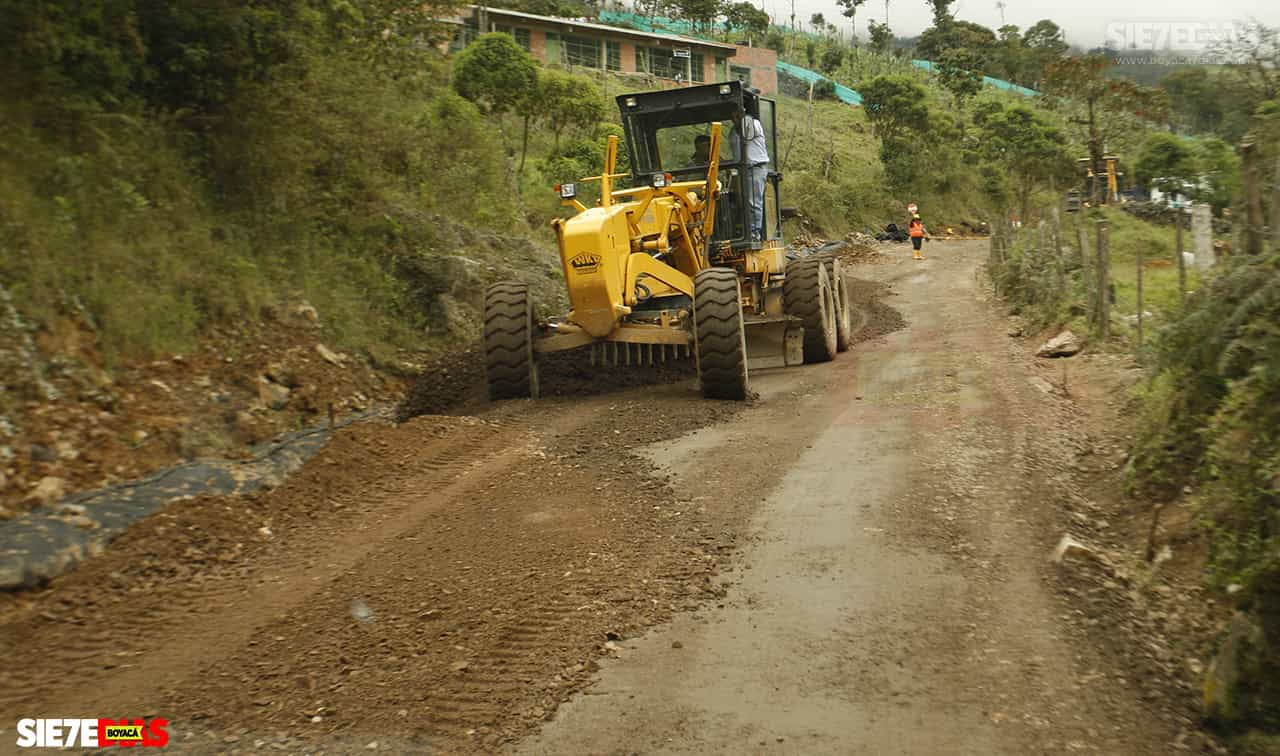 El fuerte invierno está acabando con vías veredales en Togüí 1
