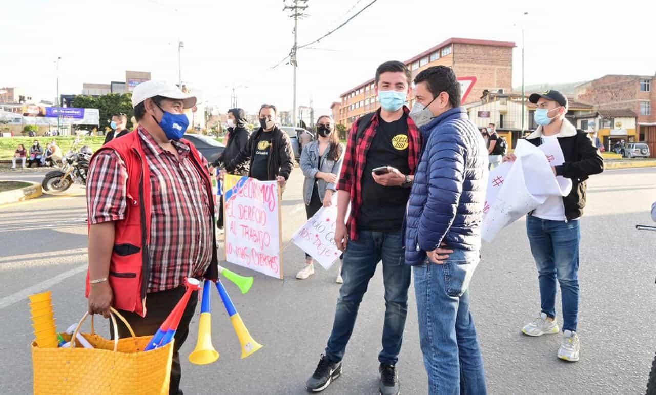 La bitácora en estos 27 días de protesta en la capital boyacense, según el Secretario de Gobierno de Tunja #LaEntrevista7días 3