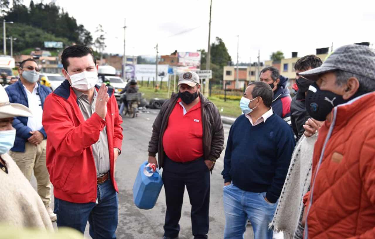 Las respuestas del Alcalde de Chiquinquirá al contagio en la pandemia, al paro y al lío de agua potable, en #LaEntrevista7días 4