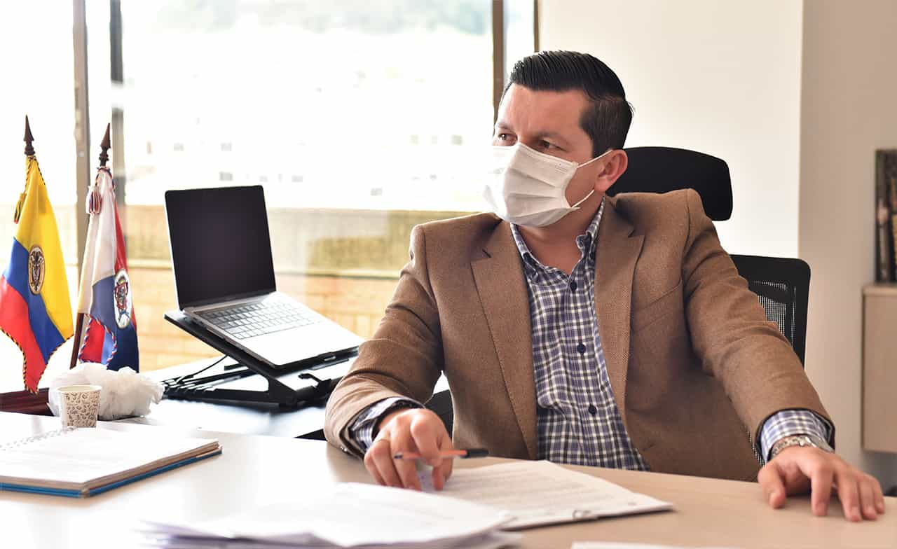 Las respuestas del Alcalde de Chiquinquirá al contagio en la pandemia, al paro y al lío de agua potable, en #LaEntrevista7días 1