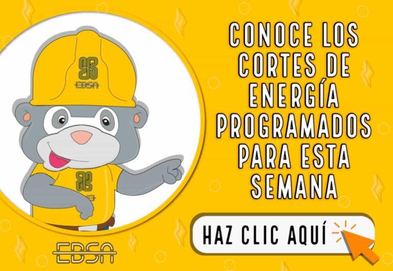 Estos son los mantenimientos programados a la infraestructura eléctrica en Boyacá para esta semana