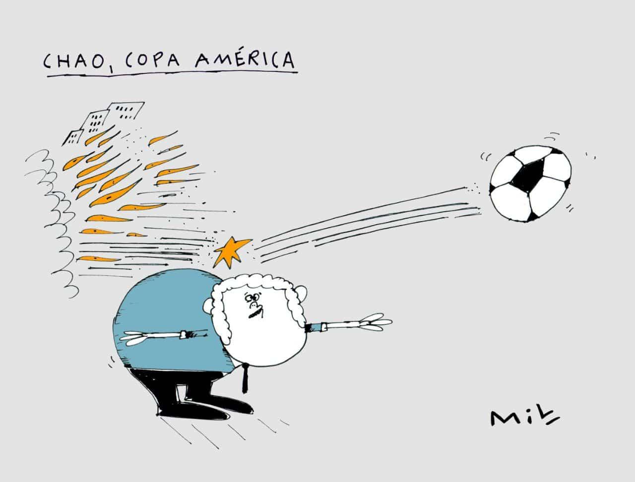 Chao, copa América - #Caricatura7días 1