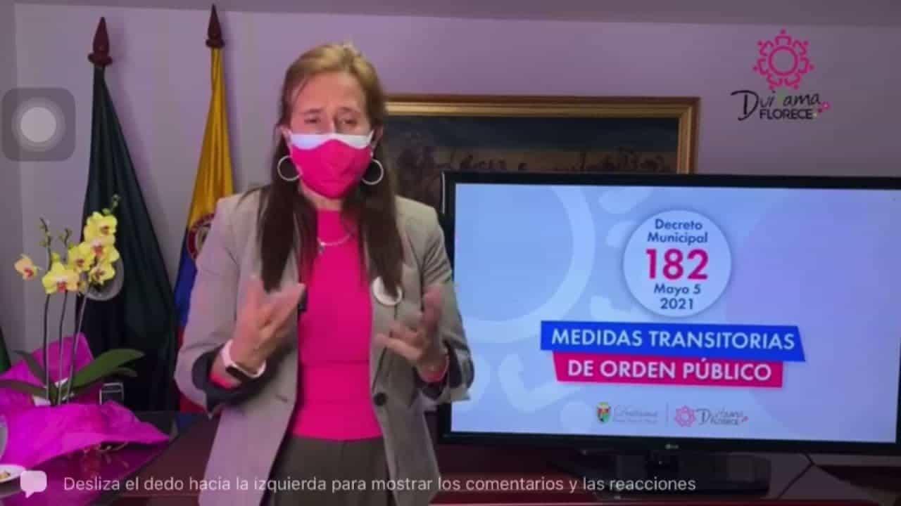 ¿Por qué Constanza Ramírez sigue en la Alcaldía? Ella misma respondió #Tolditos7días 1