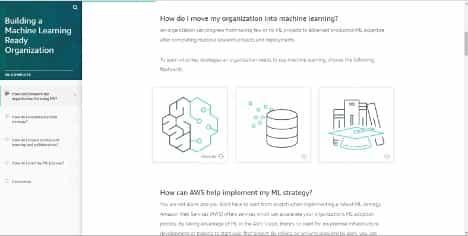 AWS lanza cursos de formación digital gratuitos para empoderar a los líderes empresariales con conocimientos de machine learning 3
