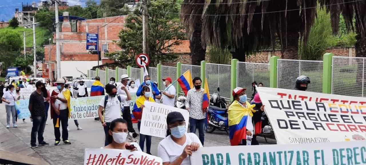 Alcalde de Guateque 'se la juega' por solucionar el Paro Nacional en su región 1