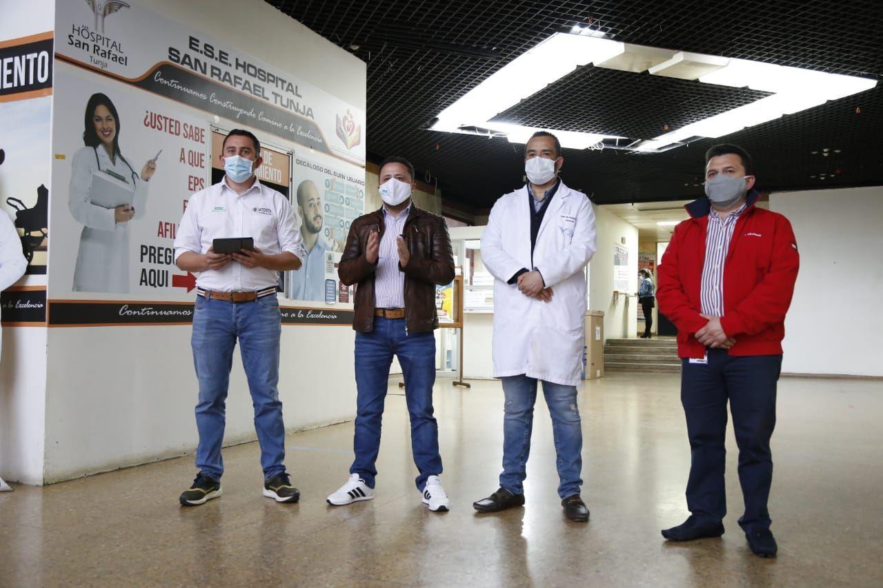 Con 15 nuevas UCI en el Hospital San Rafael y la Clínica Medilaser tratan de evitar el colapso por el tercer pico en la pandemia 1