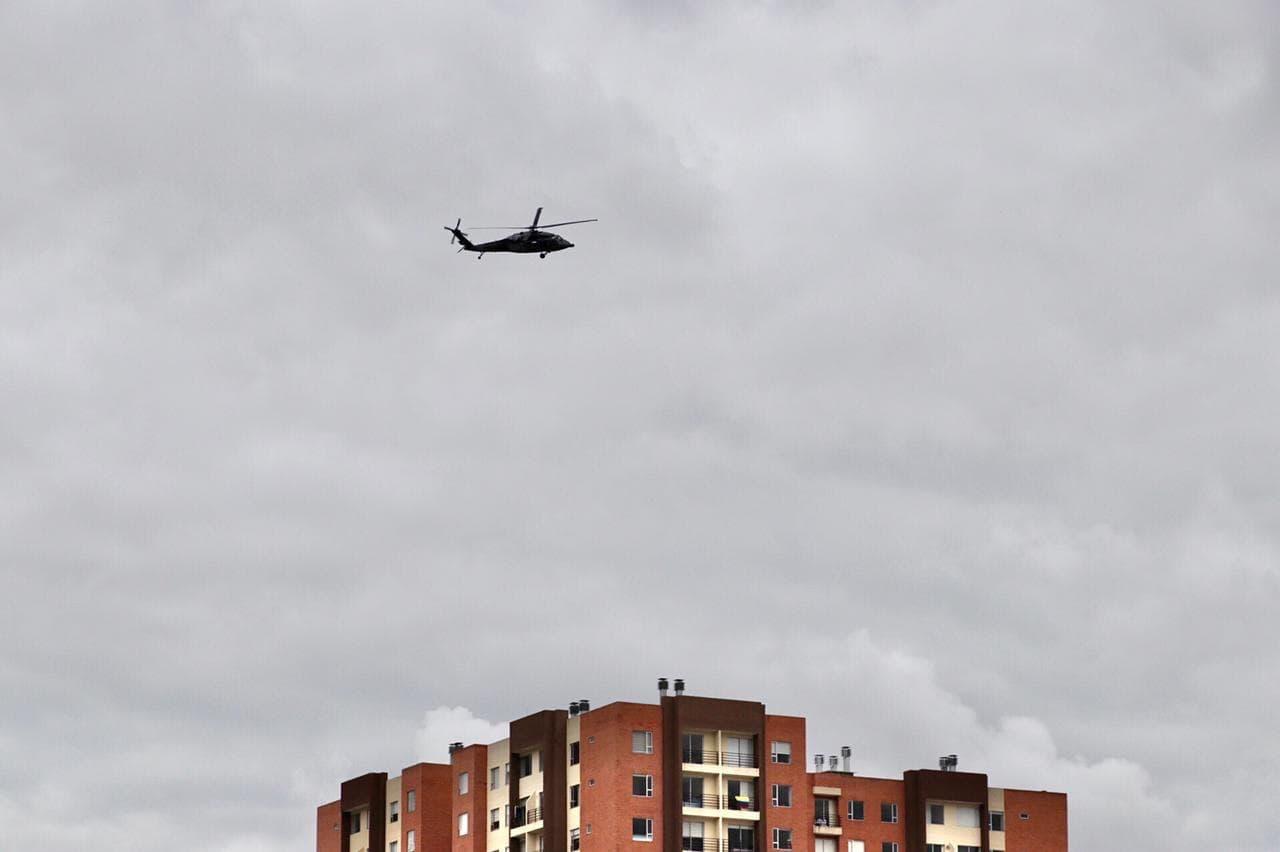 ¿Por qué los sobrevuelos de helicópteros del Ejército sobre Tunja y otros municipios de Boyacá? 1