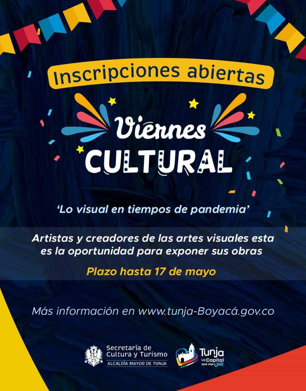 La secretaría de cultura y turismo de Tunja abre inscripciones para artistas de las artes visuales 2